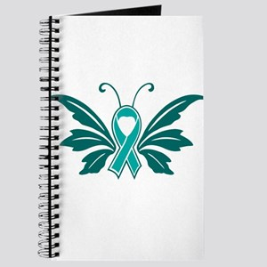 Sexual Assault Awareness Butterfly Ribbon Journal
