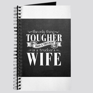 Truckers Wife Tough Journal