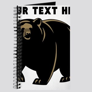 Custom Black Bear Journal