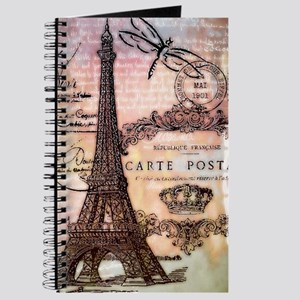 Eiffel tower collage Journal