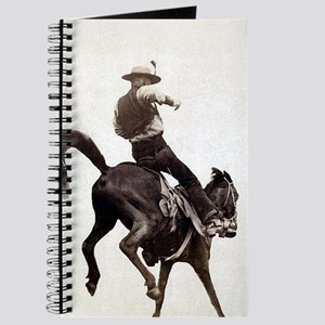 Vintage Rodeo Cowboy Journal