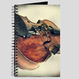 classic vintage violin Journal