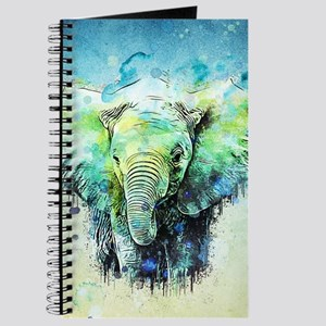 watercolor elephant Journal
