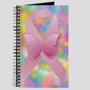 Pink Awareness Ribbon Journal