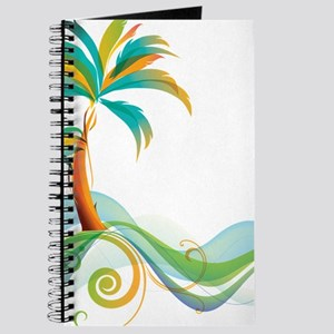 Rainbow Palm Tree Journal