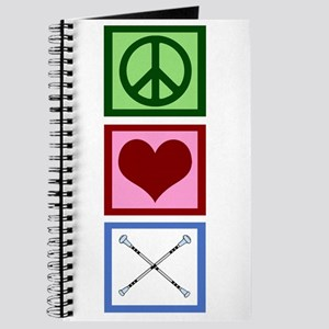 Peace Love Twirl Baton Journal