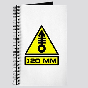 120mm Warning Journal