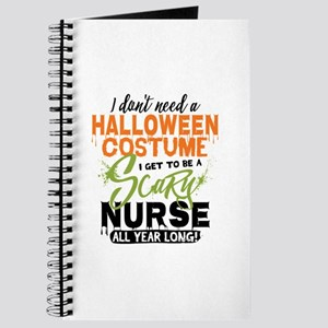 Nurse Halloween Journal