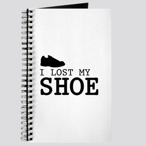 I Lost My Shoe Journal