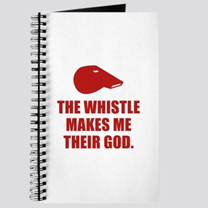 The Whistle Makes Me Their God Journal