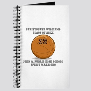 Custom Basketball Player Name | Number | Y Journal