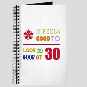 Funny 30th Birthday (Feels Good) Journal
