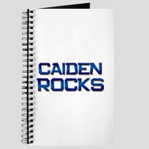 I Love Caiden Notebooks - CafePress