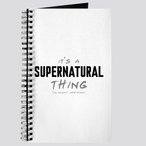 It's a Supernatural Thing Journal