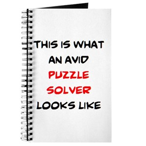 avid puzzle solver Journal