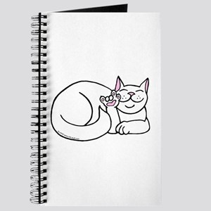 White ASL Kitty Journal