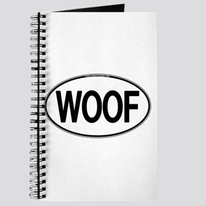 WOOF Oval Journal