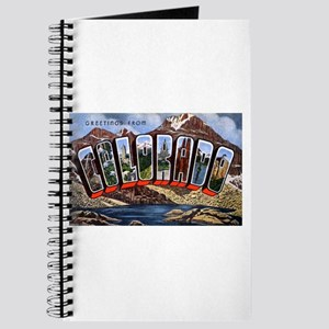Colorado Greetings Journal