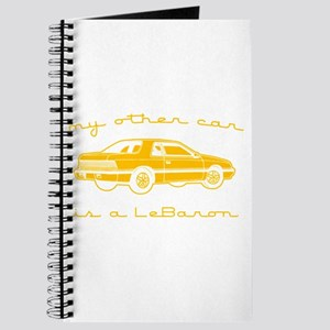 my other car is a lebaron Journal