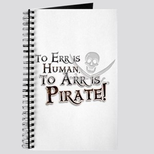 To Arr is Pirate! Funny Journal