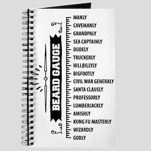 67c3f771d Beard Notebooks - CafePress
