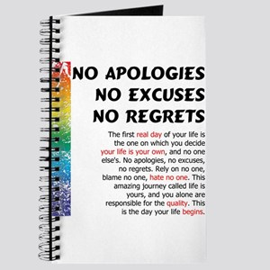 No Apologies Journal