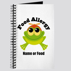 Personalized Food Allergy Frog Journal