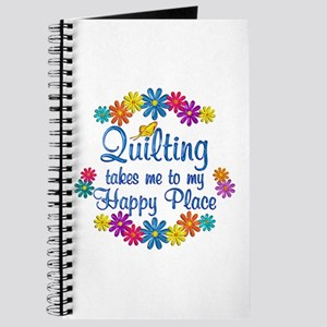 Quilting Happy Place Journal