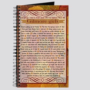 Gilmore Girls Life Lessons Journal