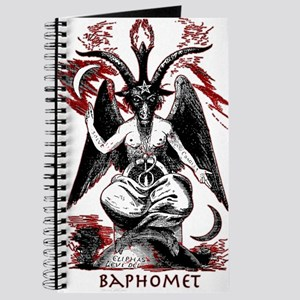 Sigil Of Baphomet Notebooks - CafePress
