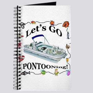 Pontoon Captain's Log Journal