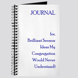 Sermon Notebooks - CafePress