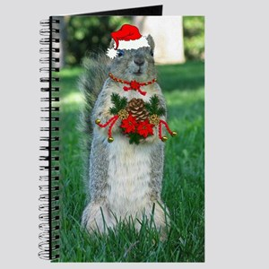 Christmas Squirrel Journal