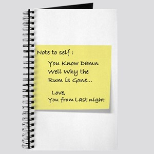 Note to self... Journal