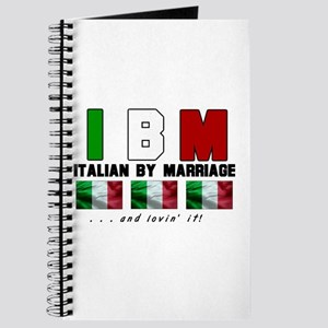 Italian By Marriage - and lov Journal
