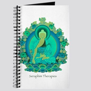 Teal psychedelic Buddha Journal