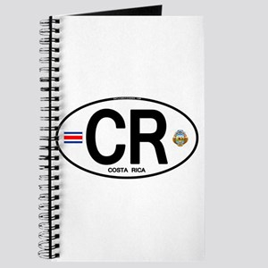 Costa Rica Euro Oval Journal
