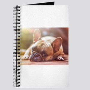 french bulldog laying Journal