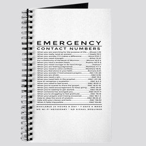 bible emergency number Journal