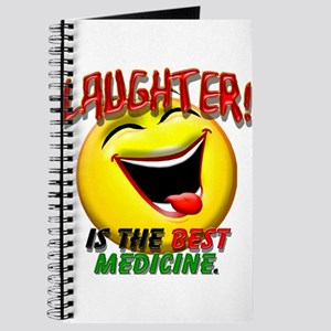 LAUGHTER IS THE BEST MED 1 pract flat Journal