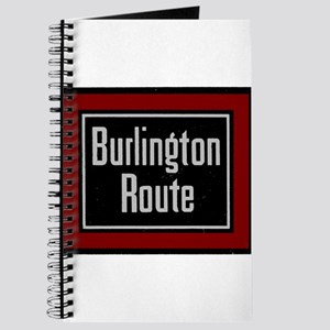 Burlington Route - railroad train Journal
