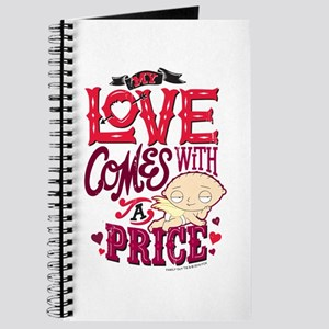 Family Guy Love Comes with a Price Journal