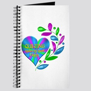Quilting Happy Heart Journal