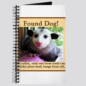 Funny Possum Notebooks - CafePress
