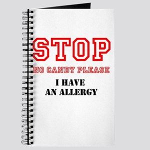 Allergy Warning Journal