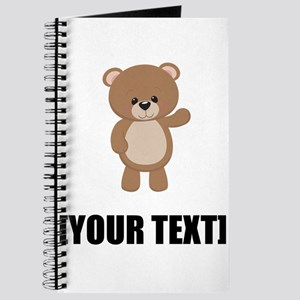 Teddy Bear Waving Personalize It! Journal