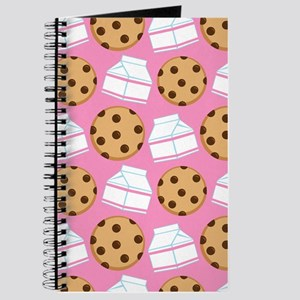 Milk and Cookies Pattern Journal