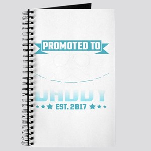 Promoted To Daddy Est. 2017 Journal