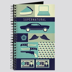 Supernatural Collage Journal