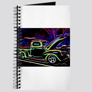 1940 Ford Pick up Truck Neon Journal